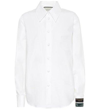 Cotton Shirt - Gucci   Mytheresa