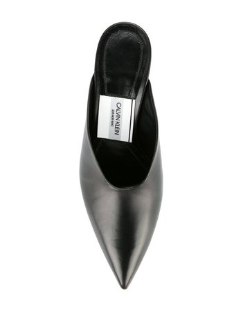 Calvin Klein 205W39nyc Pointed Toe Mules