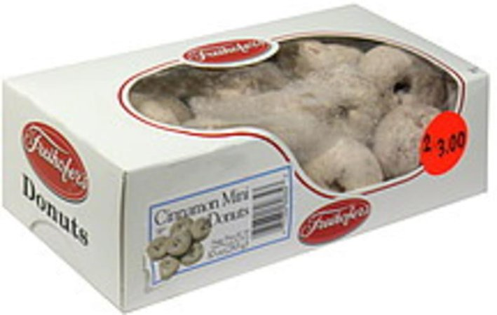 Freihofers Donuts, Cinnamon Mini Donuts - 10 oz, Nutrition Information | Innit