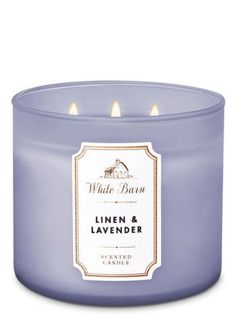 "White Barn Candle ""Lavender and Linen"""
