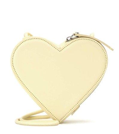 Christopher Kane Heart Leather Shoulder Bag | ModeSens