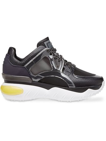 Fendi sheer panels chunky sneakers £414 - Shop Online - Fast Delivery, Free Returns