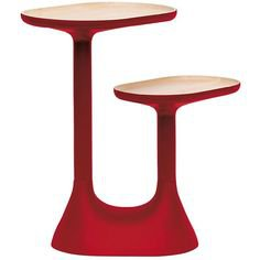 red end table 44