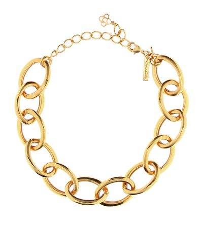 Chainlink Necklace   Oscar de la Renta - Mytheresa