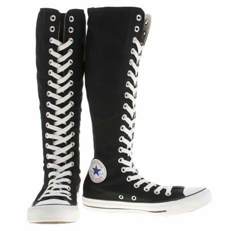 Knee High Converse Boots