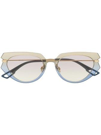 Dior Eyewear Attitude 2 cat-eye Ombré Sunglasses - Farfetch