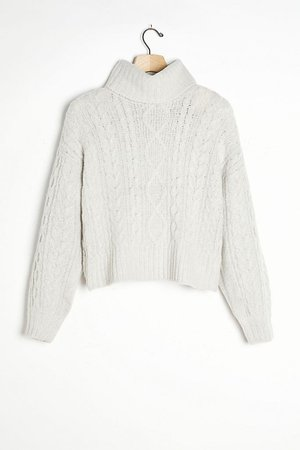Emma Cable-Knit Sweater | Anthropologie