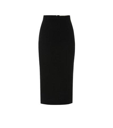 Roland Mouret Arreton wool-crêpe pencil skirt