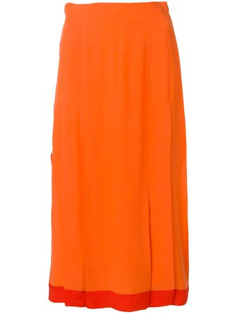 Cashmere In Love High-Waisted Pleated Skirt