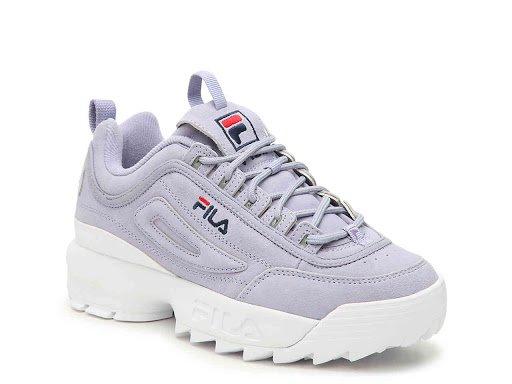 Filat Women Disruptor II Premium Sneaker - Women's - Lavender