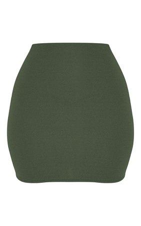Black Mini Suit Skirt   Skirts   PrettyLittleThing USA