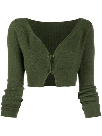 Jacquemus Cropped button-up Cardigan - Farfetch