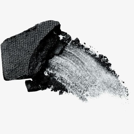 Black eye shadows