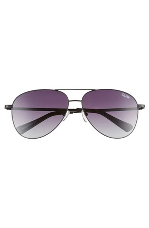 Quay Australia Still Standing 60mm Aviator Sunglasses