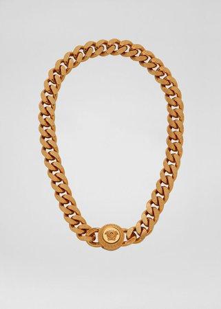 Versace Chain Medusa Necklace for Men   US Online Store