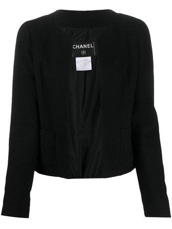 Chanel Pre-Owned open-front Jacket - Farfetch