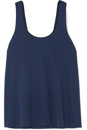 Skin   Oona Pima cotton-jersey pajama top   NET-A-PORTER.COM