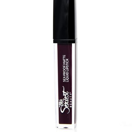 The Sexiest Beauty - Sex-Proof Matte Liquid Lipstick Savage