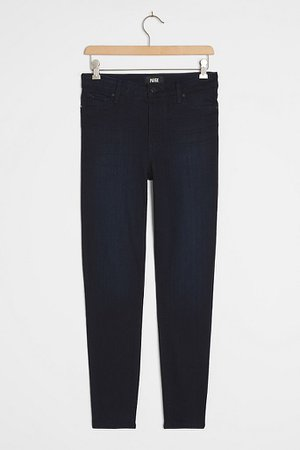 Paige Hoxton High-Rise Skinny Ankle Jeans | Anthropologie