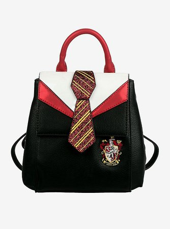 Danielle Nicole Harry Potter Gryffindor Uniform Mini Backpack Red