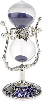 DOVANT Sandglass Hourglass 15 15 Min Timer Clock Home Office Desk Decor Sand Timer Special Clock Lid Reminder Christmas Birthday Gifts (Purple): Amazon.ca: Home & Kitchen