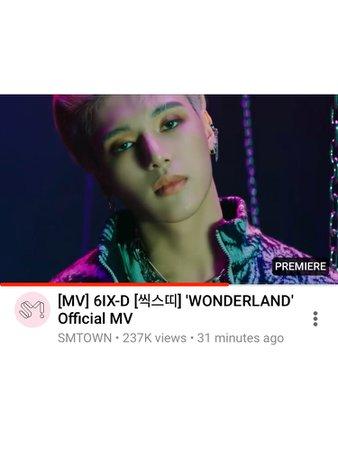 6IX-D 'WONDERLAND' Official MV