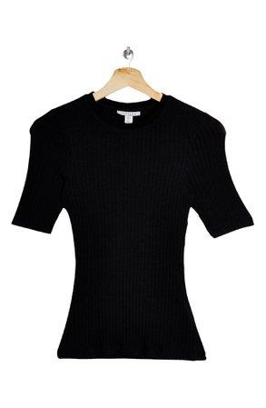 Topshop Rib T-Shirt | Nordstrom