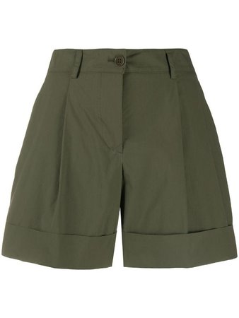 P.A.R.O.S.H. Cotton turn-up Shorts - Farfetch