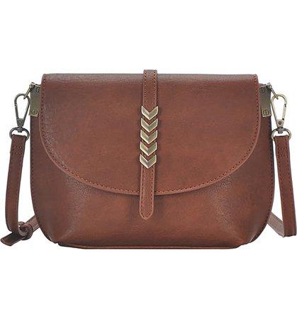 Antik Kraft Arrow Faux Leather Crossbody Bag | Nordstrom