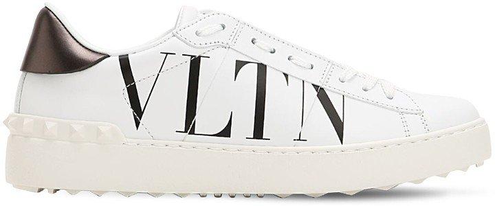 20mm Open Vltn Leather Sneakers