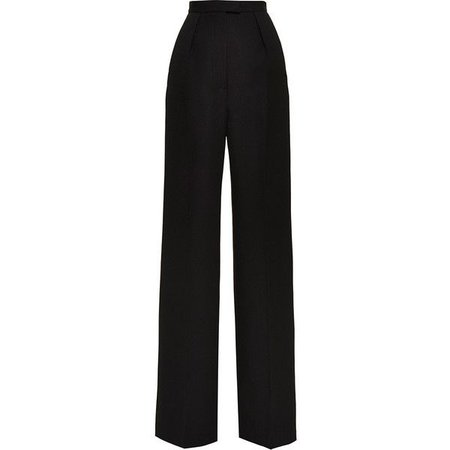 Black High Wasted Wide Leg Pants