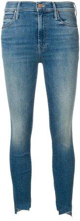 frayed edges skinny jeans