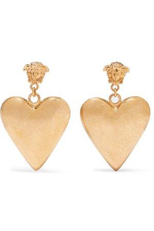 Versace   Gold-tone earrings   NET-A-PORTER.COM