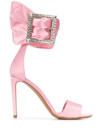 Alexandre Vauthier Yasmin 105Mm Buckled Sandals Ss20 | Farfetch.com