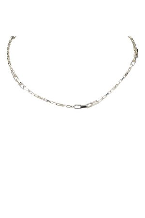Silver Chain Necklace by Vintage Gucci at ORCHARD MILE