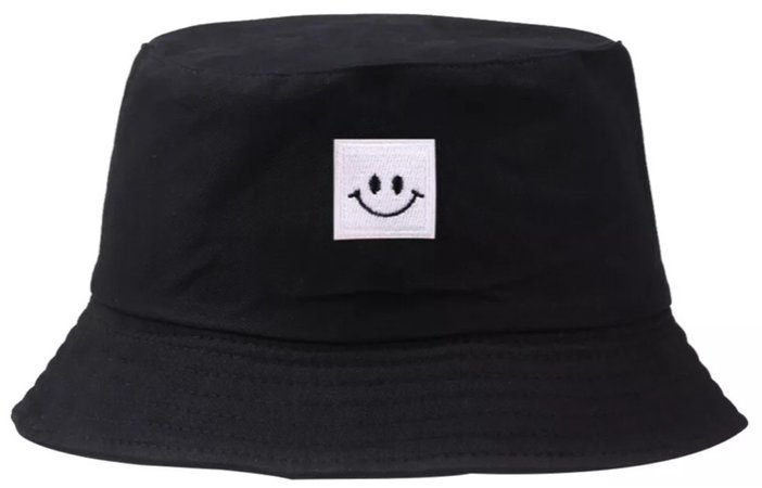 smiley face bucket hat