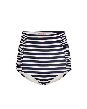 Johanna Ortiz Migrate South Striped Bikini Bottoms   INTERMIX®