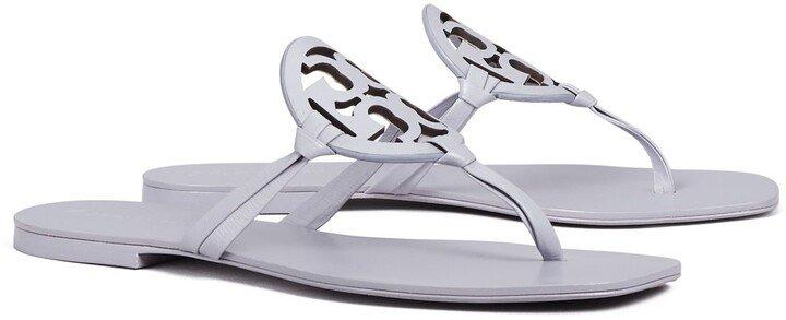 Miller Square-Toe Sandal, Leather