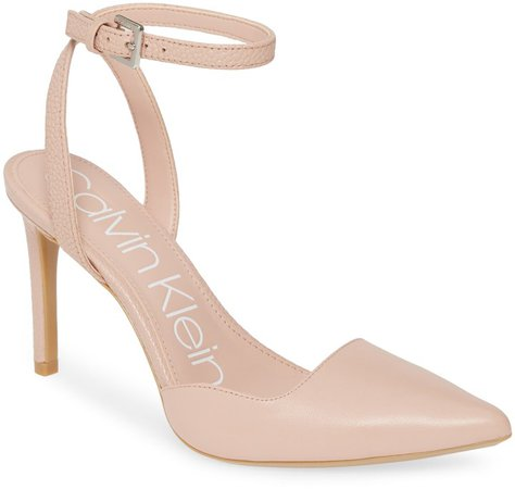 Raffaela Ankle Strap Stiletto Pump