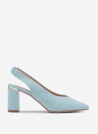 Green 'Emily' Court Shoes   Dorothy Perkins