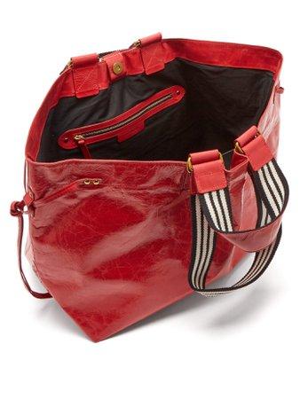 Wardy leather shopper bag | Isabel Marant | MATCHESFASHION.COM
