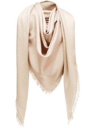 Fendi monogram print scarf FXT9249EA - Farfetch