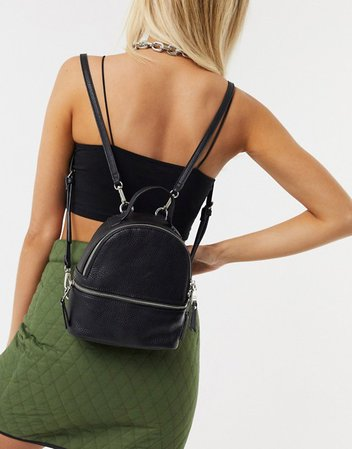 Steve Madden Jacki backpack in black | ASOS