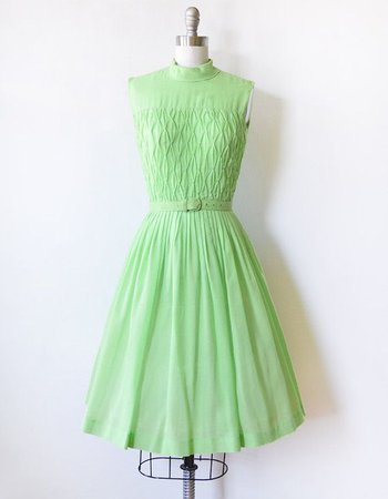 light green tiana inspired dress