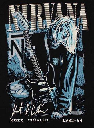 Kurt Cobain Poster/Art