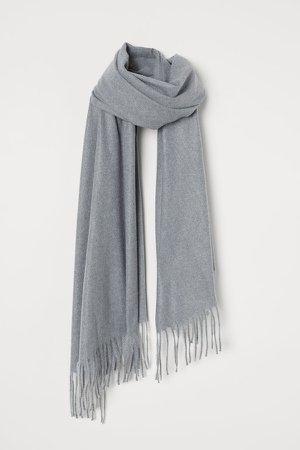 Woven Scarf - Gray