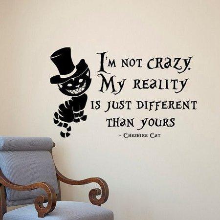 Cheshire Cat Quote