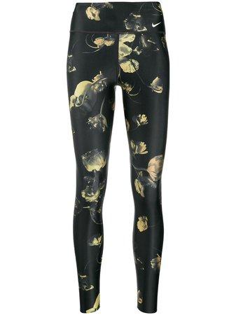 Nike Floral Print Leggings - Farfetch