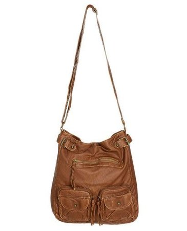 Brown Crossover Body Bag