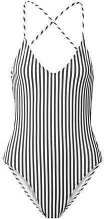 Fara Slip Mio Striped Swimsuit